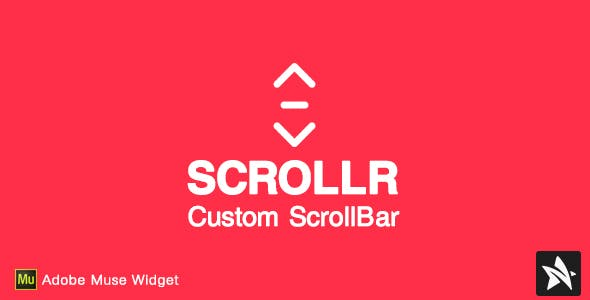Scrollr Custom Scrollbar for Adobe Muse