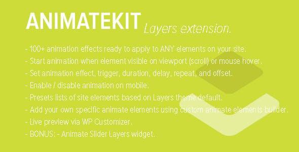 AnimateKit - Animation Tools for Layers