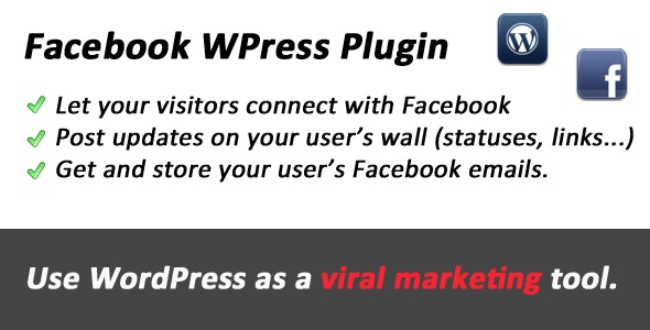 Facebook Connect and Viral tool for WordPress - CodeCanyon Item for Sale