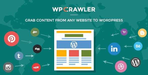 WP Crawler - Grab Any Website Content To WordPress
