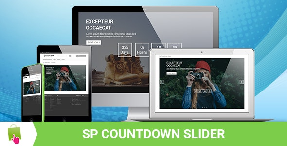 SP Countdown Slider - Responsive Prestashop Module - CodeCanyon Item for Sale