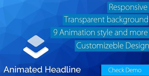 Layer - Animate Headline Extension