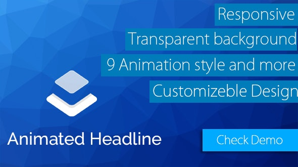 Layer - Animate Headline Extension  - CodeCanyon Item for Sale