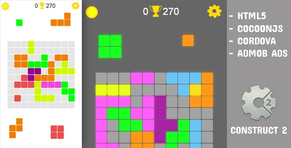Block Puzzle C2V - CodeCanyon Item for Sale