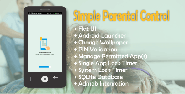 Simple Parental Control - CodeCanyon Item for Sale
