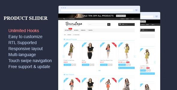 Product Slider - Responsive Prestashop Module - CodeCanyon Item for Sale