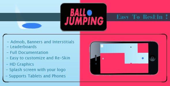 Jumping Ball + AdMob + Multiple Character