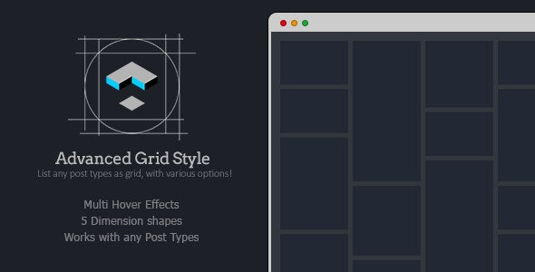 Advanced Grid Style for LayersWP - CodeCanyon Item for Sale