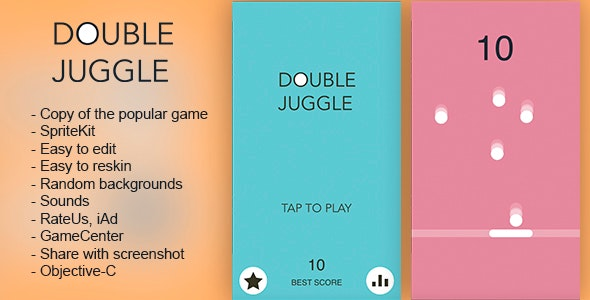Double Juggle - CodeCanyon Item for Sale