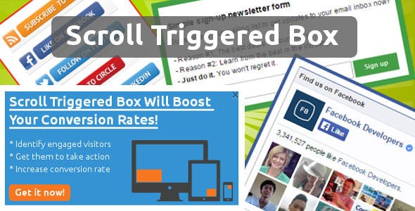 Scroll Triggered Box for Drupal