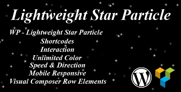 WP - Lightweight Star Particle - CodeCanyon Item for Sale
