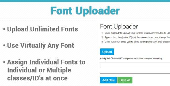 Font Uploader