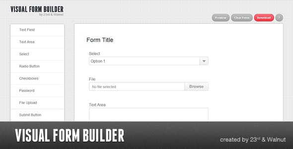 Visual Form Builder - Beautiful Forms In Seconds        Nulled