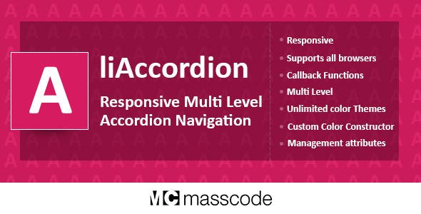 Responsive Multi Level Accordion - liAccordion