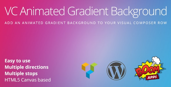 VC Animated Gradient Background - CodeCanyon Item for Sale