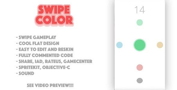 Swipe Color - CodeCanyon Item for Sale