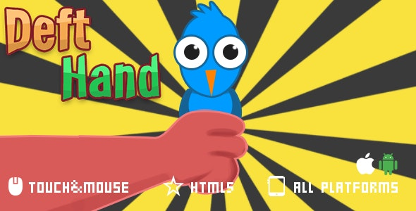 Deft Hand- html5 mobile game - CodeCanyon Item for Sale