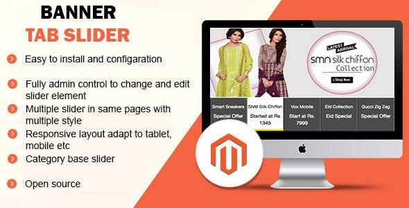 Banner Tab Slider - CodeCanyon Item for Sale
