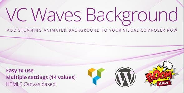 VC Waves Background