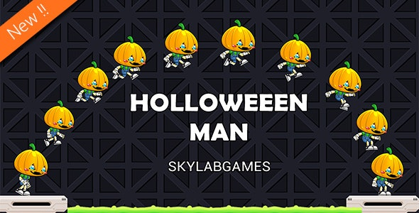 Halloween Man Game + PSD - CodeCanyon Item for Sale