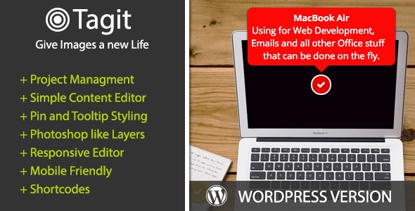 Tagit Image Tooltip Creator - CodeCanyon Item for Sale
