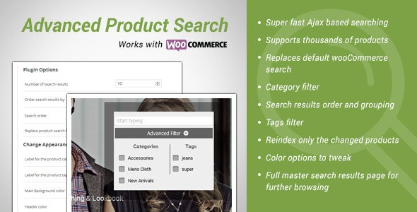 Advance Products Search for wooCommerce - CodeCanyon Item for Sale