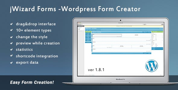 jWizard Forms - WordPress Form Creator