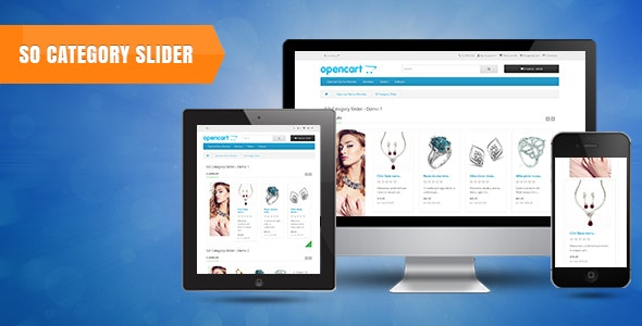 So Category Slider - Responsive OpenCart 3 & 2.3 Module - CodeCanyon Item for Sale
