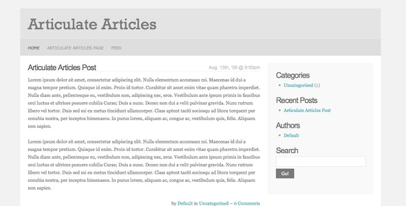 Articulate Articles - CodeCanyon Item for Sale
