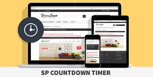 SP Countdown Timer - Responsive Prestashop Module