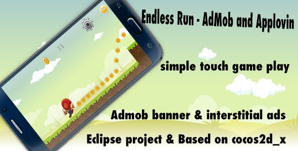 Endless Run - AdMob and Applovin