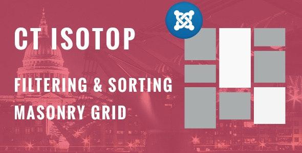 CTisotop - Joomla! Isotope Module - CodeCanyon Item for Sale