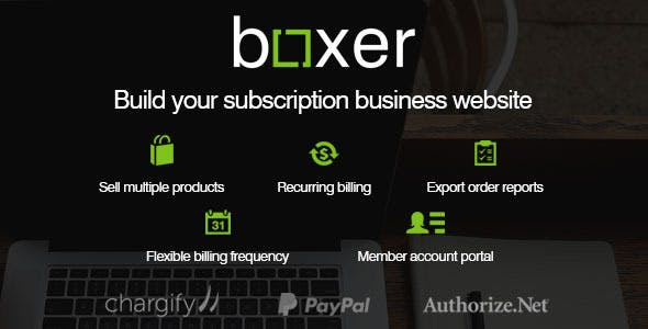 Subscription Boxer - WordPress Subscription E-Commerce