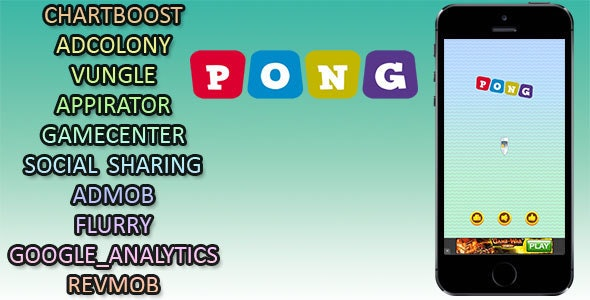 Pong Game - CodeCanyon Item for Sale