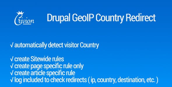 Drupal GeoIP Country Detect & Redirect