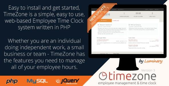 TimeZone Employee Management & Time Clock