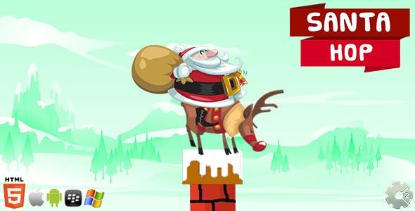 Santa Hop! - Christmas Game