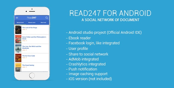 Read247 - social network of document (android) - CodeCanyon Item for Sale