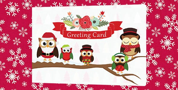 Business Christmas Greeting Card - WP Plugin