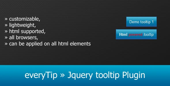 everyTip » Jquery tooltip Plugin - CodeCanyon Item for Sale