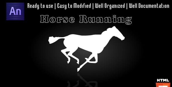 Horse Running Animation