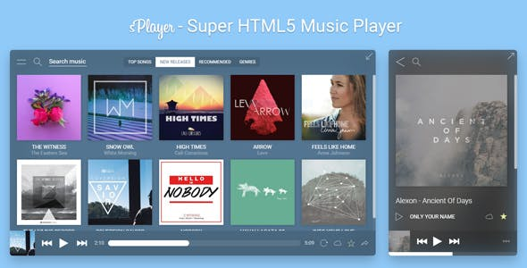 sPlayer - Super HTML5 Music Player
