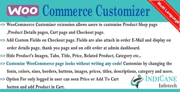 WooCommerce Customizer - CodeCanyon Item for Sale