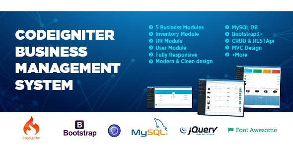 Business Data Management System - CodeCanyon Item for Sale
