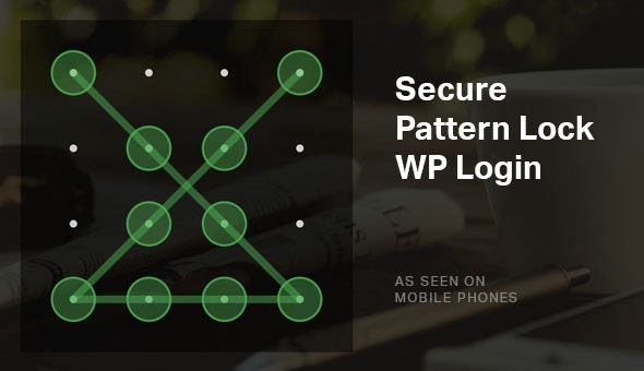 Secure Pattern Lock - WordPress Security Login Plugin - CodeCanyon Item for Sale