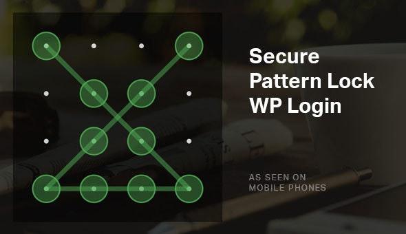Secure Pattern Lock - WordPress Security Login Plugin - CodeCanyon Item for Sale