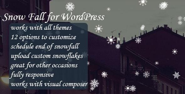 SnowFall for WordPress - CodeCanyon Item for Sale