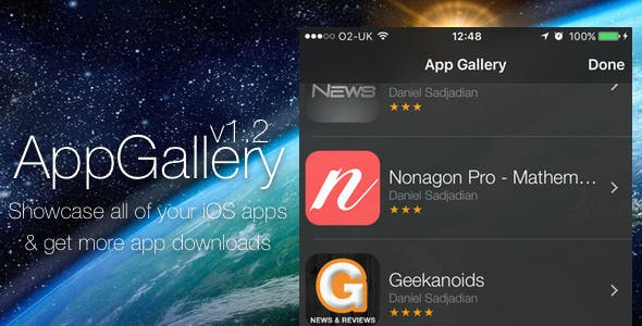 AppGallery - Showcase your iOS Apps