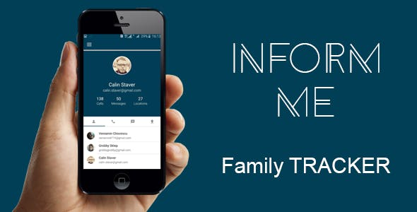 Inform me - Family Tracker