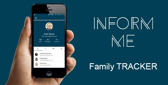 Inform me - Family Tracker - CodeCanyon Item for Sale